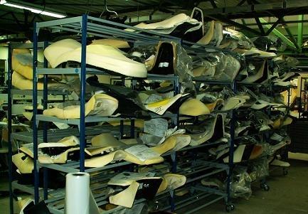 Exclusivité : Visite de l'usine Bagster, les ateliers.
