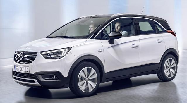 Nouveautés 2017 - SUV urbains: le Meriva part, arrive le Crossland X
