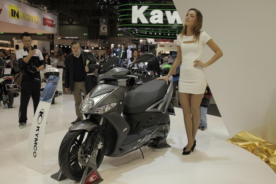 Salon de Milan : Kymco K-XCT 125 ABS/Xciting 400 ABS