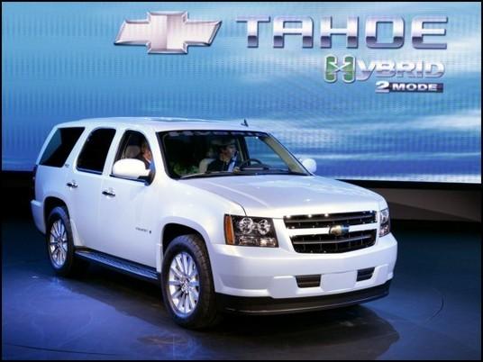 Lumière sur la Chevrolet Tahoe hybride 2008
