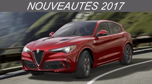 Nouveautés 2017 – SUV Compacts: du nouveau avec l'Alfa Romeo Stelvio