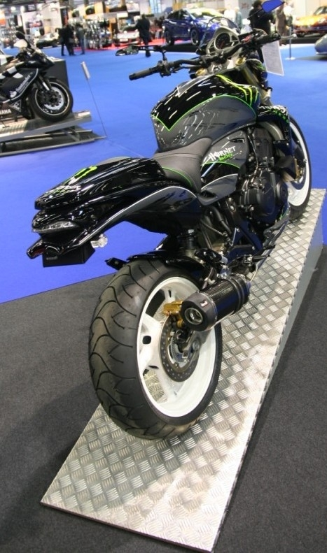 PTRS 2008 : Honda 600 Hornet Monster Energy