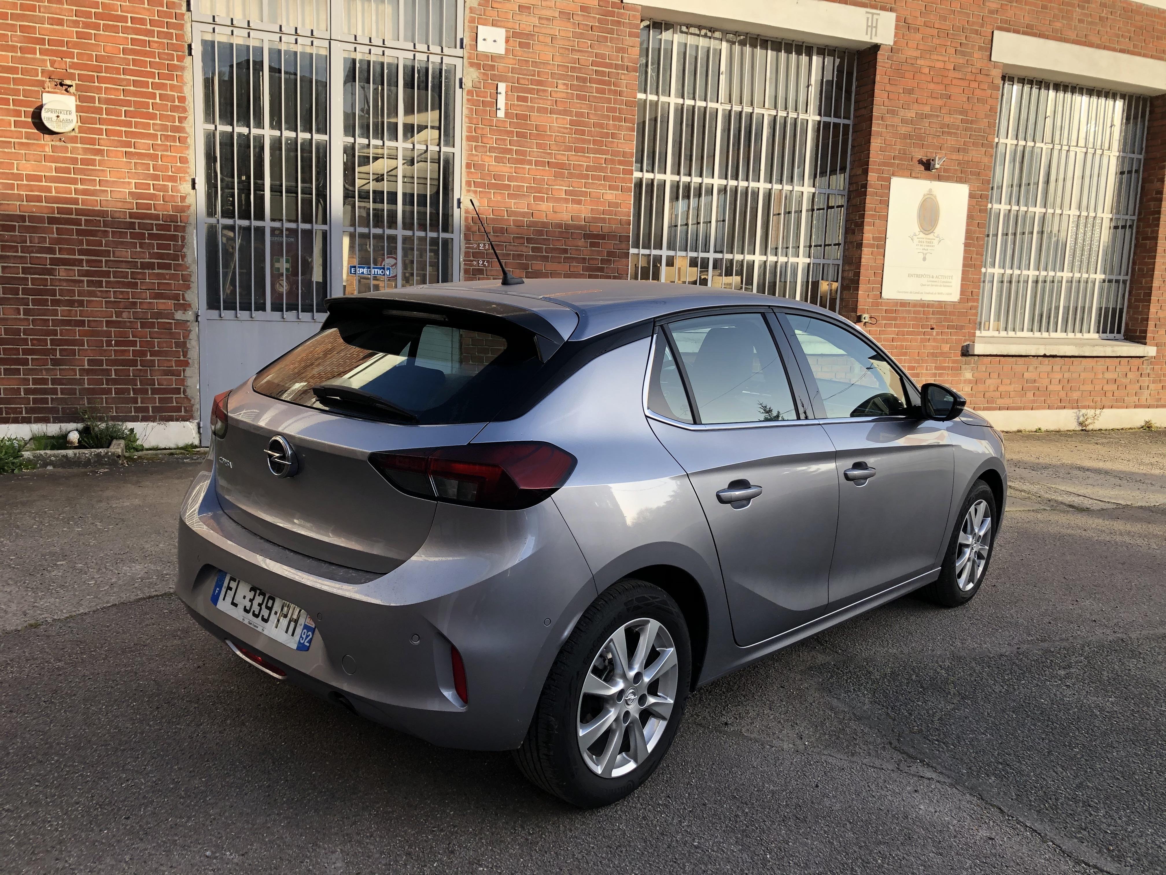 Opel Corsa 1.5 diesel 2020 - La fiche technique