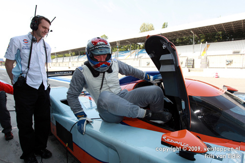 Jos Verstappen casse une autre Aston Martin LMP1