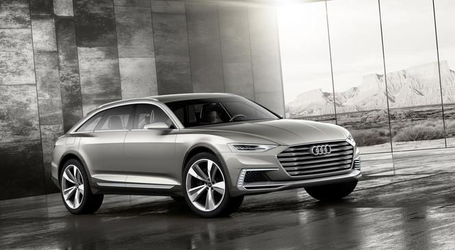Shanghai 2015 : Audi Prologue Allroad Concept, le troisième de la famille