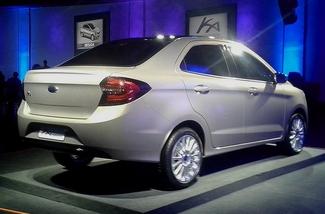 New Delhi 2014 : Ford Figo concept, la Ka indienne