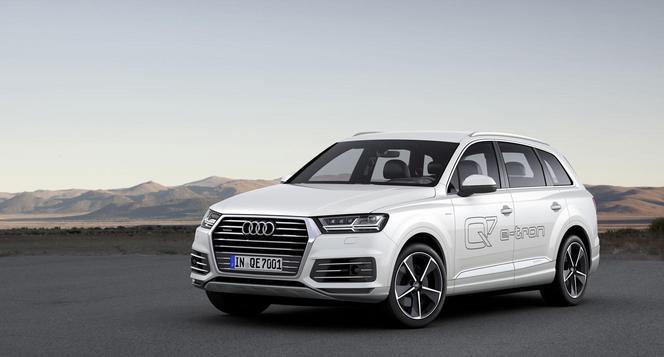 Audi dévoile un Q7 hybride rechargeable essence pour l'Asie