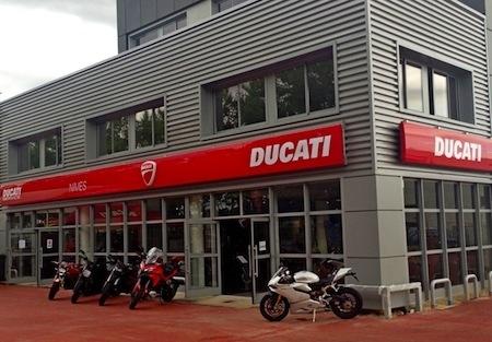 Ducati: un nouveau magasin à Nîmes