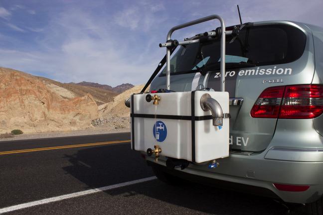 Mercedes fait la promotion de la Classe B à pile à combustible