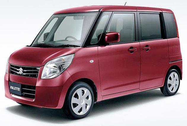 salon de tokyo suzuki pr sentera la palette une voiture kei commercialis e en 2008. Black Bedroom Furniture Sets. Home Design Ideas