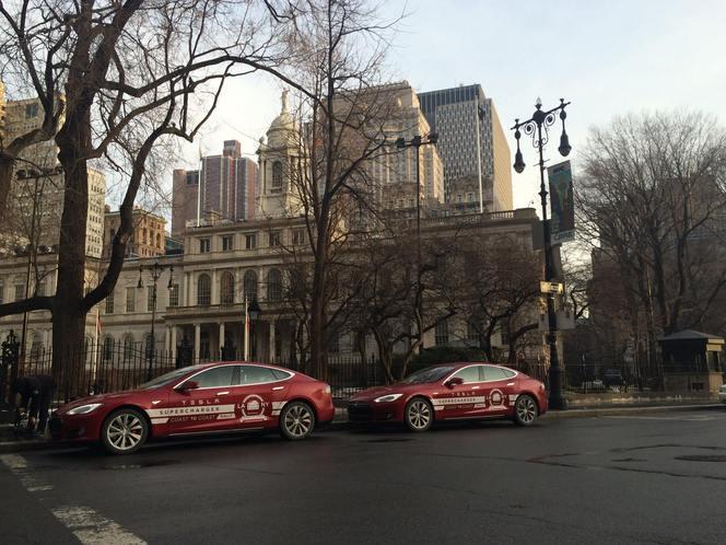 Record : la Tesla Model S de Los Angeles à New York en seulement 76 heures