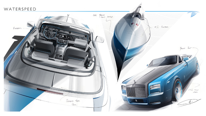 Rolls Royce Drophead Coupé Waterspeed Collection, pour célébrer Sir Malcolm Campbell
