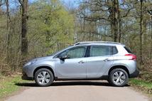 Le profil évoque plus un break surélevé qu'un crossover. Le gabarit est pourtant équivalent à celui d'un Renault Captur.