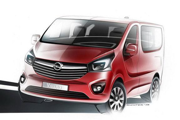 Les nouveaux Renault Trafic et Opel Vivaro s'annoncent...