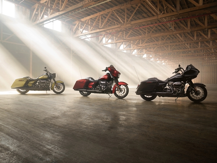 Harley-Davidson: les CVO version 2018