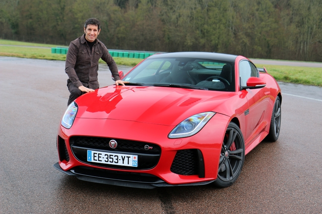 Les essais de Soheil Ayari - Jaguar F-Type SVR : animal très très méchant