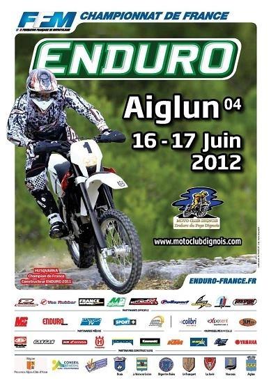 2ème épreuve du championat de France d'enduro à Aiglun (04)
