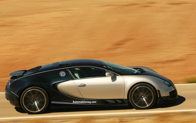Une Bugatti Veyron de 1600 ch pour Francfort ?
