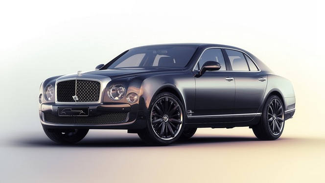 Techno Classica 2015 : Bentley Mulsanne Speed BlueTrain by Mulliner
