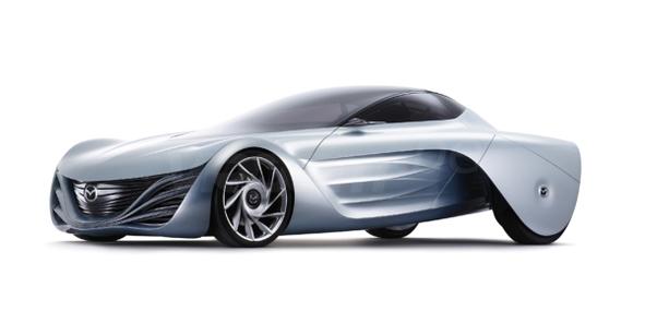 Salon de Tokyo : entre Mazda Taiki et Mazda 5, le vent souffle sur l'hydrogène