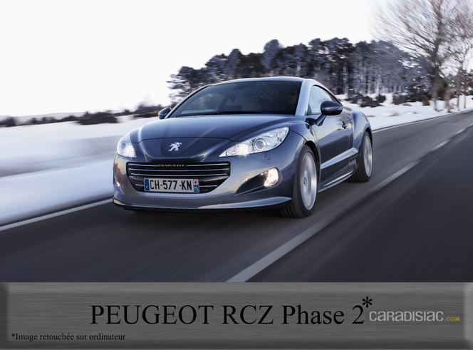 Peugeot RCZ : restylage en 2012 !
