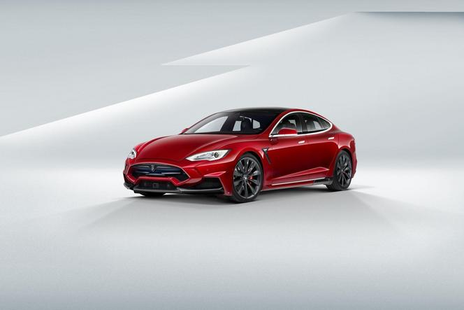 "Top Marques 2015 : Tesla Model S Larte Design ""Elizabeta"""