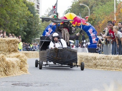 Victime de son succès, la 1ere course Red Bull Caisses à savon a été annulée !