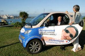 Salon Ecomobile de Lyon : zoom sur la flotte au GPL de Primagaz