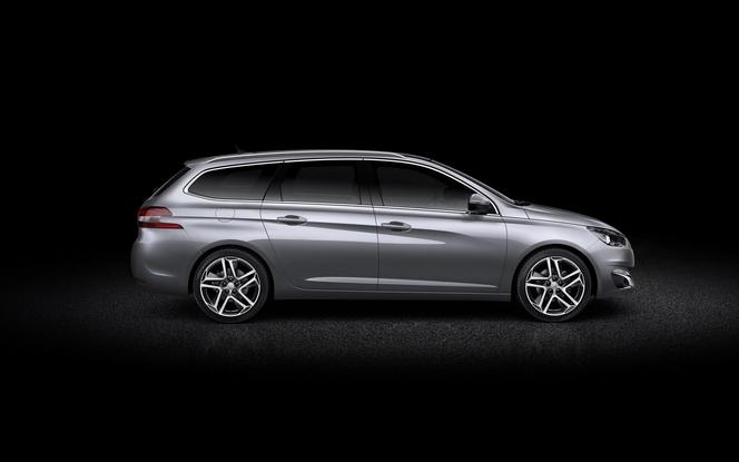 Toutes les nouveautés du salon de Genève 2014 - Peugeot 308 SW, grande et belle