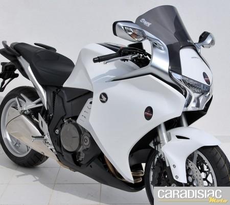 Bulle Ermax Aéromax pour la Honda VFR 1200.