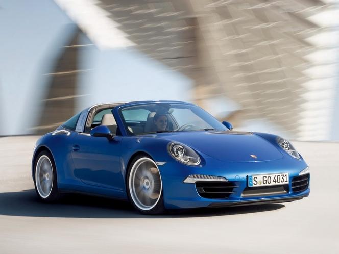 Toutes les nouveautés du salon de Genève 2014 - Porsche 911 Targa, bel anniversaire