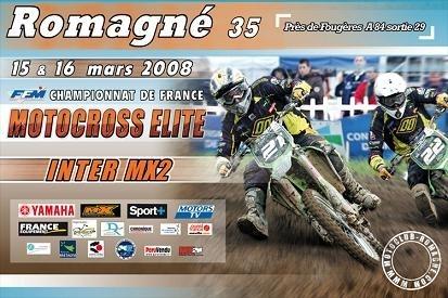 Championnat de France MX 2 à Romagné (35)