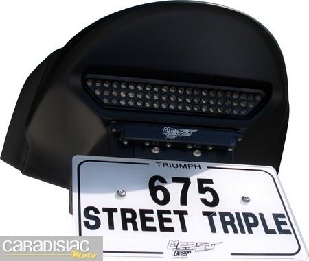 Triumph Street Triple 675: un passage de roue signé Marco Design.