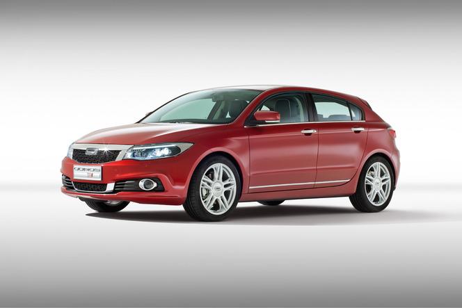 Toutes les nouveautés du salon de Genève 2014 - Qoros 3 Hatchback, celle qui va changer la donne ?