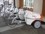 Société Becycle/TNT Express France : les coursiers se déplacent à vélo !