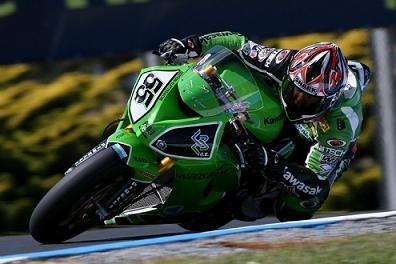 Superbike - Phillip Island D.2: Laconi tire Kawa vers le haut
