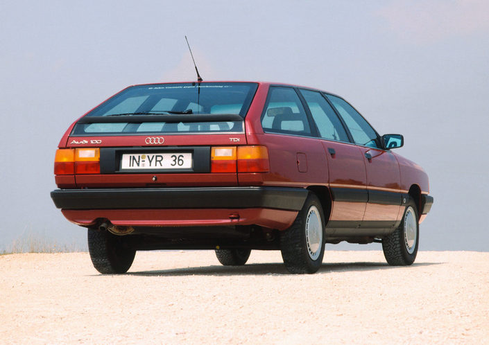 In 1990, the Audi 100 launched the three letters TDI in the Volkswagen Group.