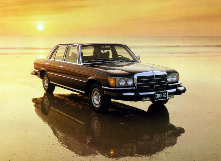 The Mercedes 300 SD was the first production turbo-diesel sedan in 1977.