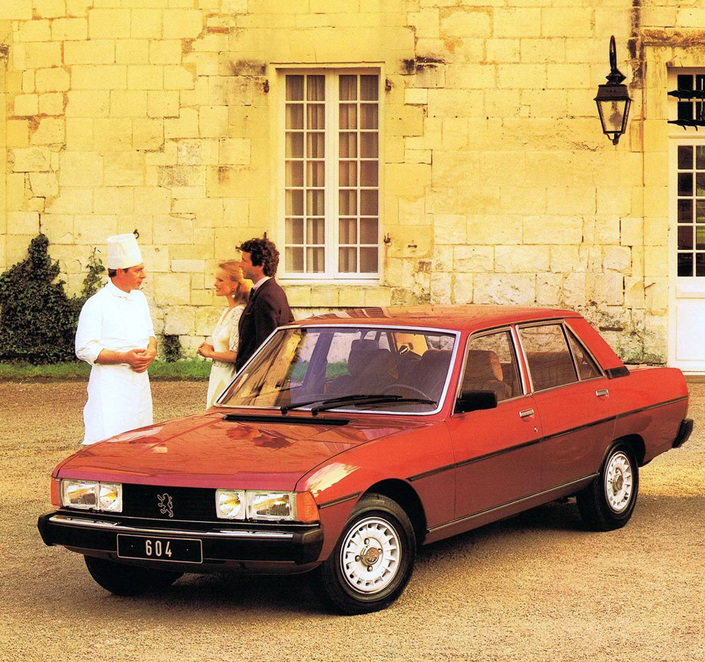In 1979, the Peugeot 604 was the first turbo-diesel sedan marketed in Europe.