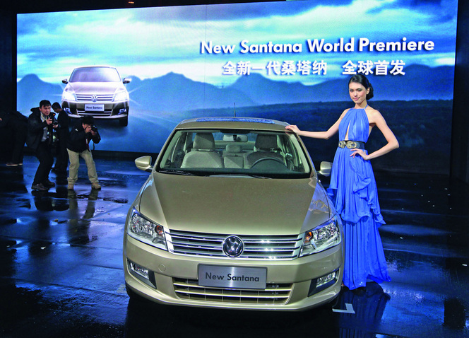 Nouvelle VW Santana, la future star de Chine
