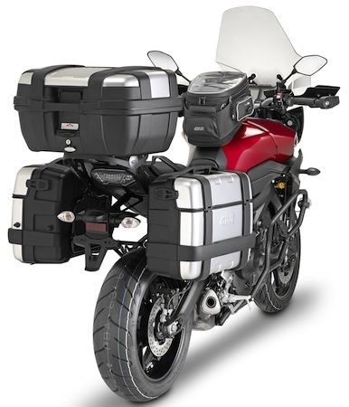 Givi: de quoi transformer votre Yamaha MT-09 Tracer en GT