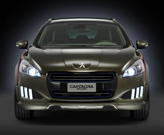 Salon de Genève 2014 - La Peugeot 508 RXh sur son 31 grâce à Castagna