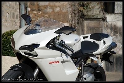 Essai : Ducati 848, un joujou extra...