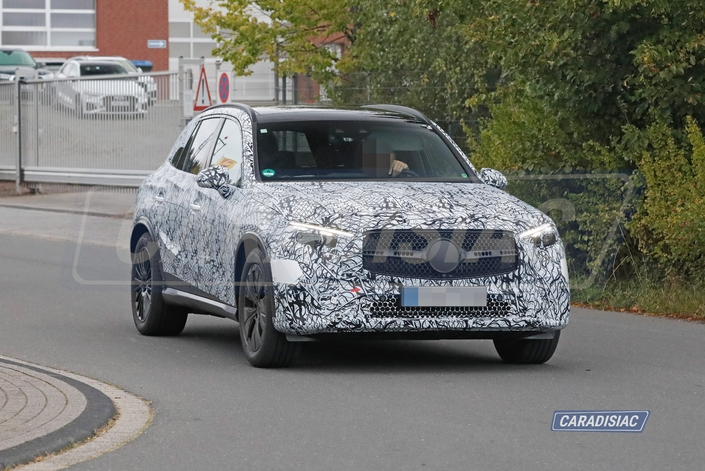 Scoop - Le futur Mercedes GLC est presque prêt