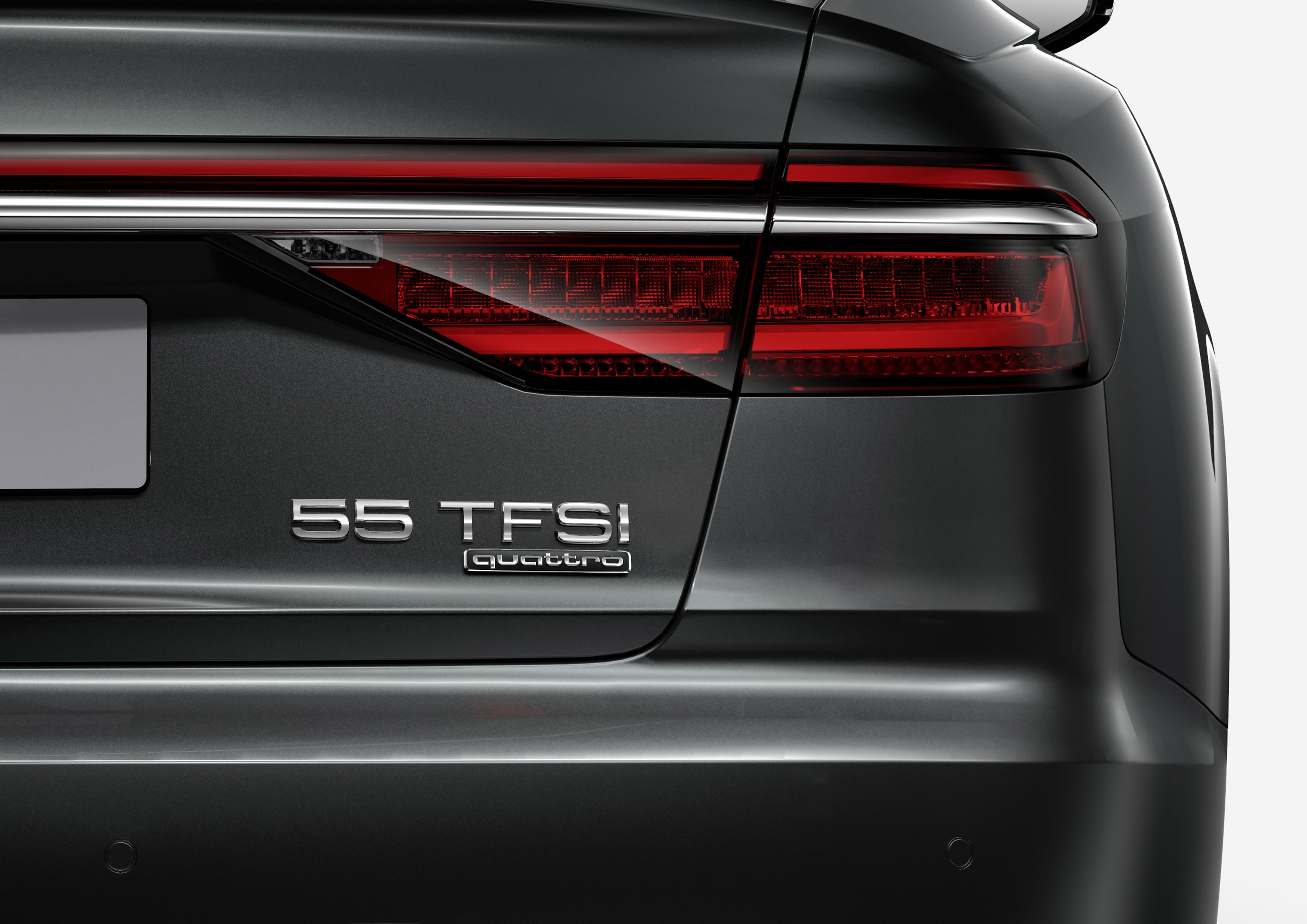 Une nouvelle nomenclature à l'arrière des autos — Audi