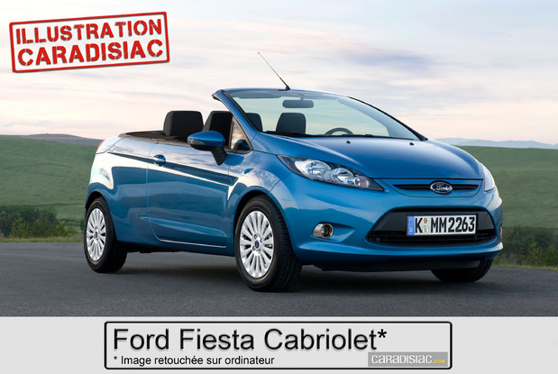 ford pr parerait une fiesta cabriolet pour 2014. Black Bedroom Furniture Sets. Home Design Ideas
