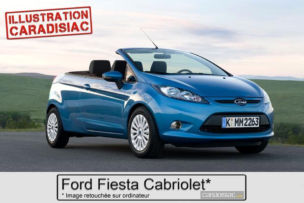 Ford préparerait une Fiesta Cabriolet pour 2014