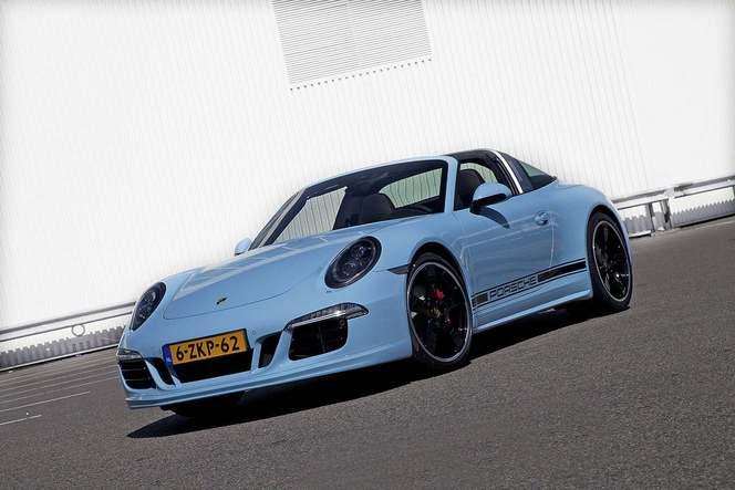 Amsterdam 2015 : Porsche dévoile une 911 Targa 4S Exclusive Edition limitée à 15 exemplaires