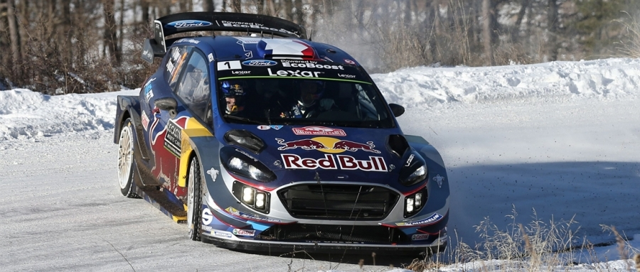 wrc s bastien ogier remporte le rallye de monte carlo. Black Bedroom Furniture Sets. Home Design Ideas
