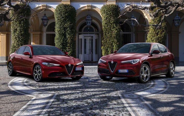 Alfa Romeo Stelvio et Giulia: une série limitée 6C Villa d'Este